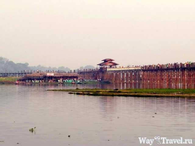 Тиковый мост У бейн (U Bein Bridge)