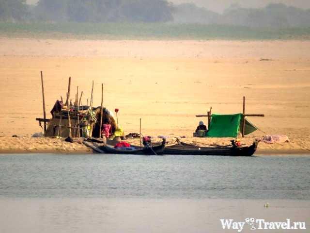Река Иравади (Irrawaddy river)
