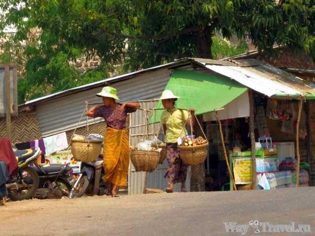 Бирманcкие женщины (Myanmar women)