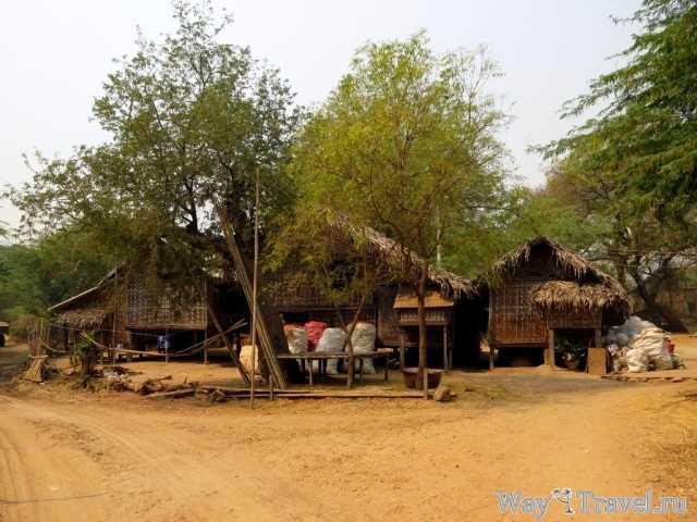 Деревня в Багане (Village in Bagan)