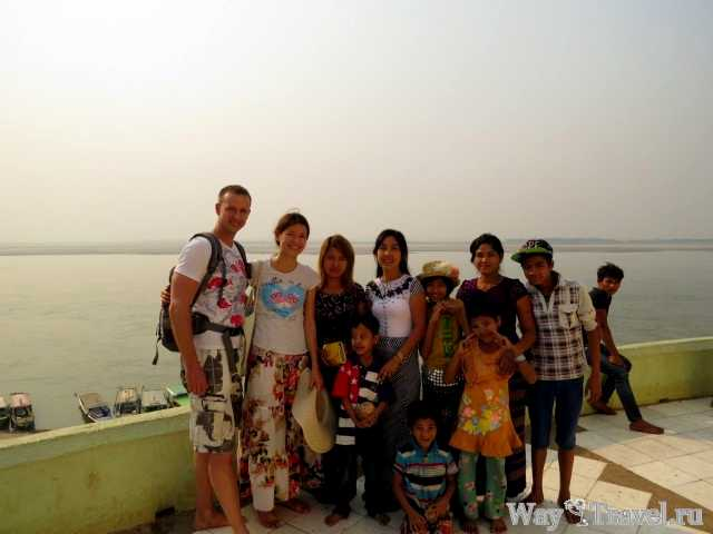 Жители Бирмы (Myanmar people)