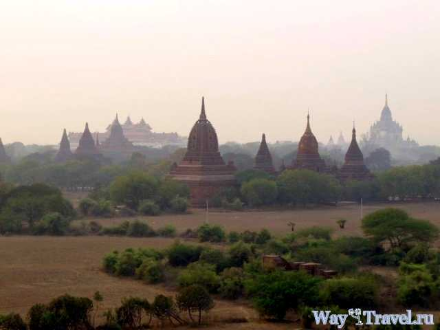 Пагоды Багана (Pagodas in Bagan)