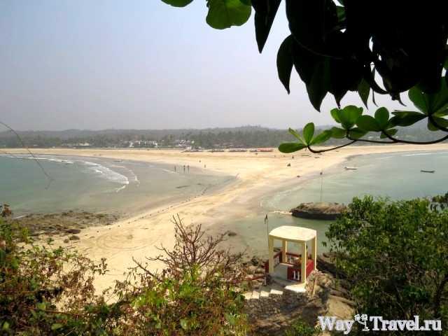 Вид с Острова влюбленных в Нгве Саунг (View from the Love Island)