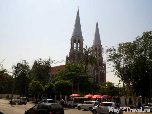 Церковь Святой Марии в Янгоне (Saint Mary Church in Yangon)