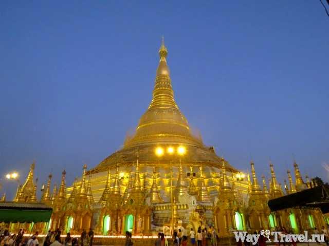 Шведагон - жемчужина Янгона