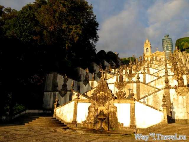 Церковь Христа на Голгофе (Igreja de Bom Jesus de Monte)