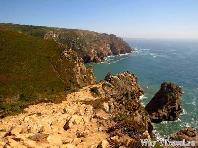 Вид с Мыса Рока (Cabo da Roca view point)
