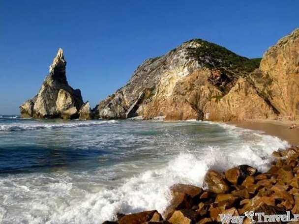 Пляж рядом с Мысом Рока (Beach near Cabo da Roca)