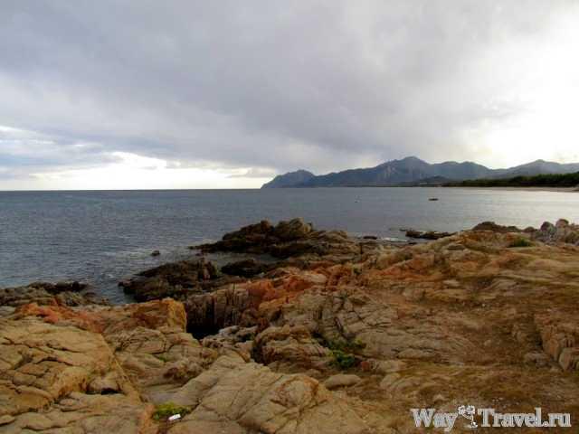 Восточное побережье Сардинии - Торре де Бари (The eastern coast of Sardegna - Torre di Bari)