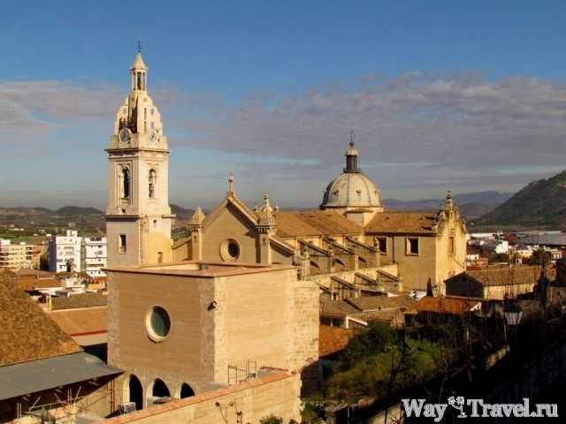 Basilica Santa Maria La Seo в Хативе (Xativa)