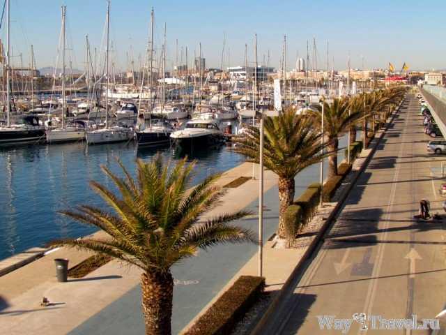Морской порт в Валенсии ( Seaport in Valencia)