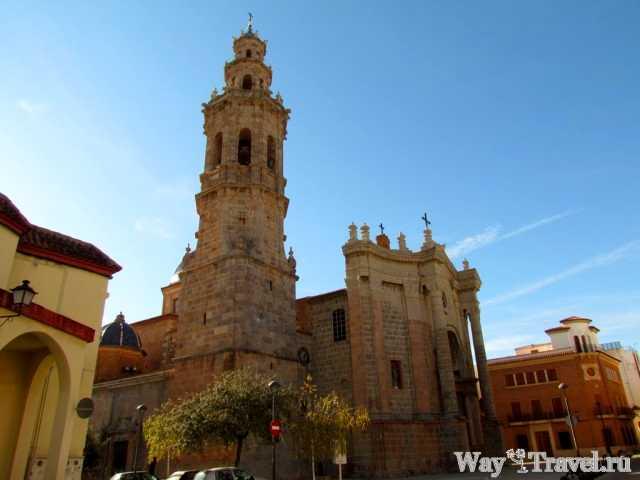 Валь-де-Ушо - кафедральный собор (La Vall d'Uixo - cathedral)