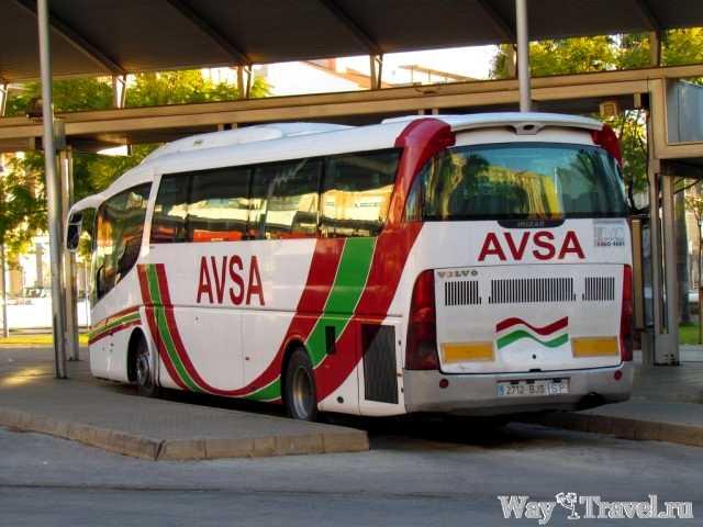 AVSA - междугородние автобысы Валенсии (AVSA - intercity buses)