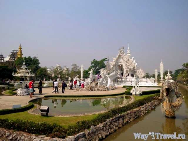 Белый храм и Золотой Треугольник (Wat Rong Khun)