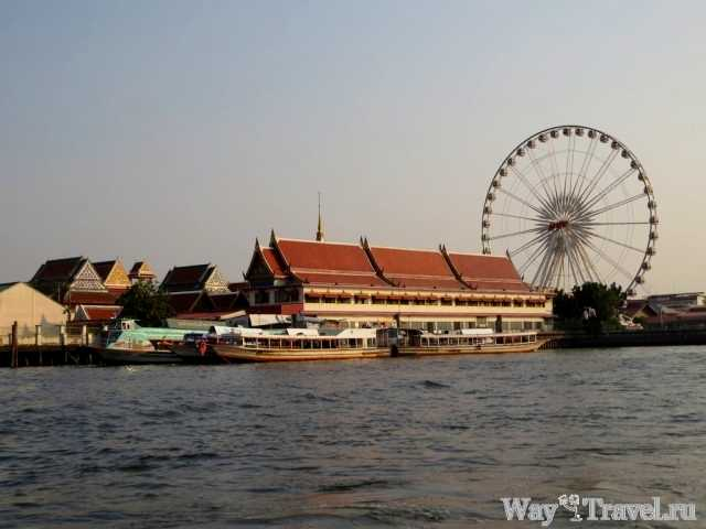 Река Чао Прая (Chao Phraya river)