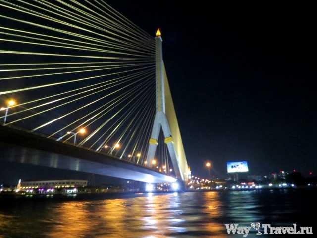 Река Чао Прая вечером (Chao Phraya in the evening)