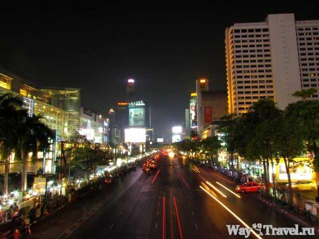 Вечерний Бангкок (Bangkok in the evening)