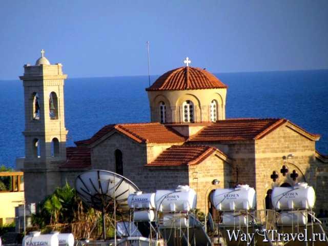 Православная византийская церковь в Пафосе (Orthodox Byzantine church in Pafos)