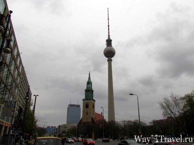 Берлинскую Телебашню (Fehrnsehturm)