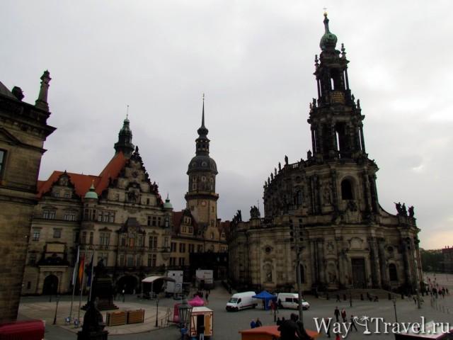 Дворцовая площадь (Schlosplatz)