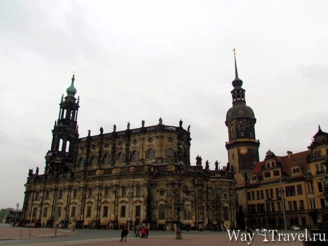 Кафедральный собор Дрездена (Katholische Hofkirche)