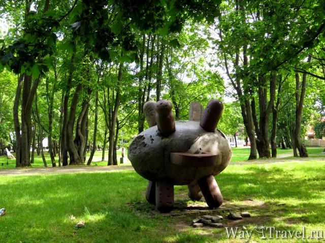 Парк скульптур (Klaip?dos skulpt?r? parkas)