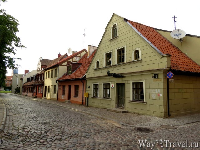 Старый город Клайпеды (Klaipeda Old Town)