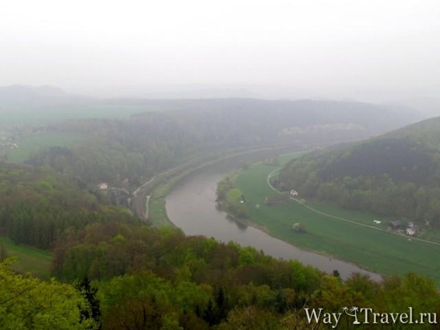 Саксонская Швейцария и река Эльба (Saxon Switzerland and river Elba)