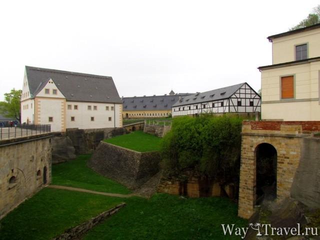 Крепость Кёнигштайн (Fortress Konigstein)