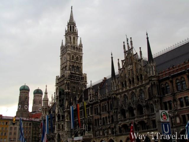 Новая ратуша Мюнхена (Neues Rathaus)