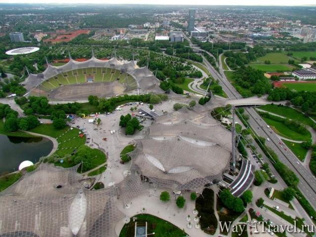 Олимпийская деревня Мюнхена (Olympic village)
