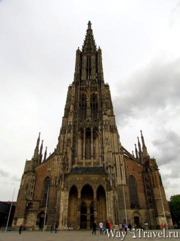 Ульм - самый высокий собор в мире. Ульмский собор (Ulmer M?nster)