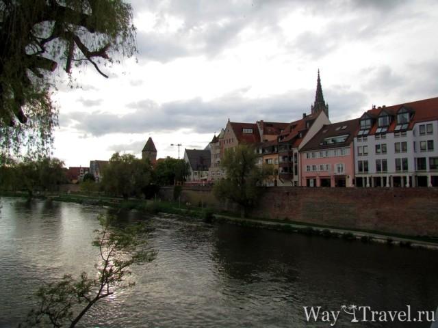 Набережная старого Ульма (Altes Ulm Promenade)