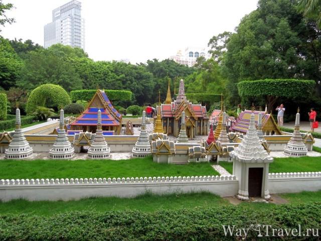 Окно в Мир - Королевский Дворец в Бангкоке (Window of the World - The Grand Palace, Bangkok)