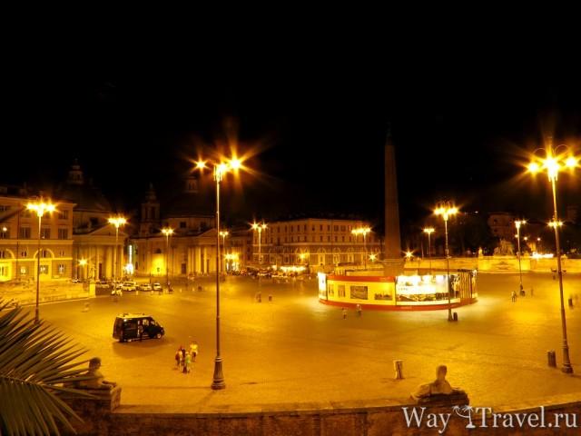 Народная площадь (Piazza del Popolo)