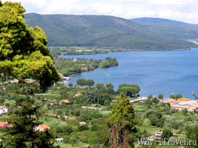 Озеро Браччано (Lago di Bracciano)
