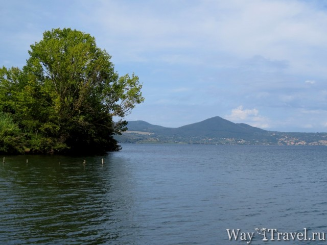 Прогулка вдоль озера Браччано (Lago di Bracciano)