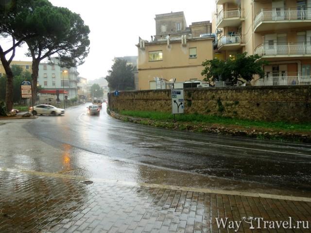Тиволи в дожде (Tivoli in the rain)