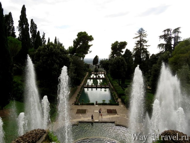 Фонтаны Виллы Д Эстэ в Тиволи (Amazing fountains of Tivoli)