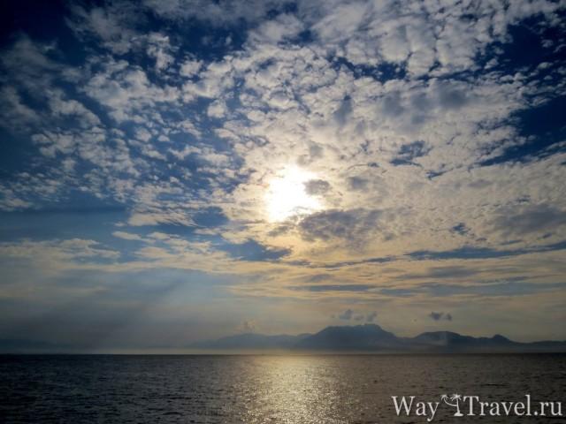 Утренне солнце над Сорренто