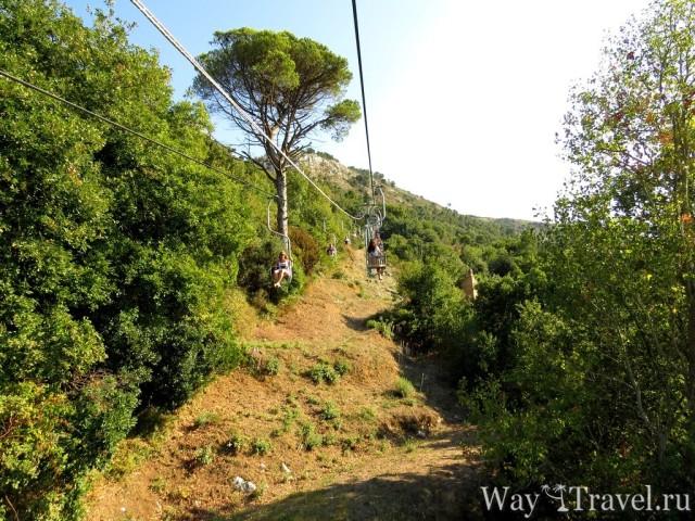 Канатная дорога (Seggiovia Monte Solaro)