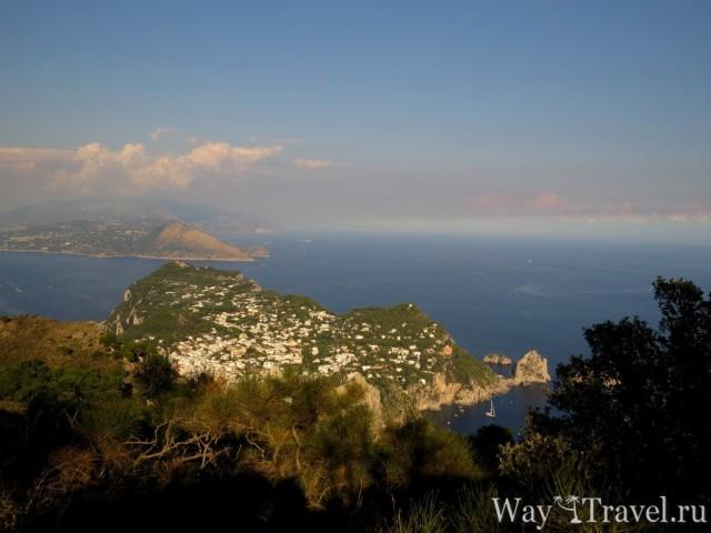 Обзорная площадка с острова Капри (Viewpoint from Kapri Island)