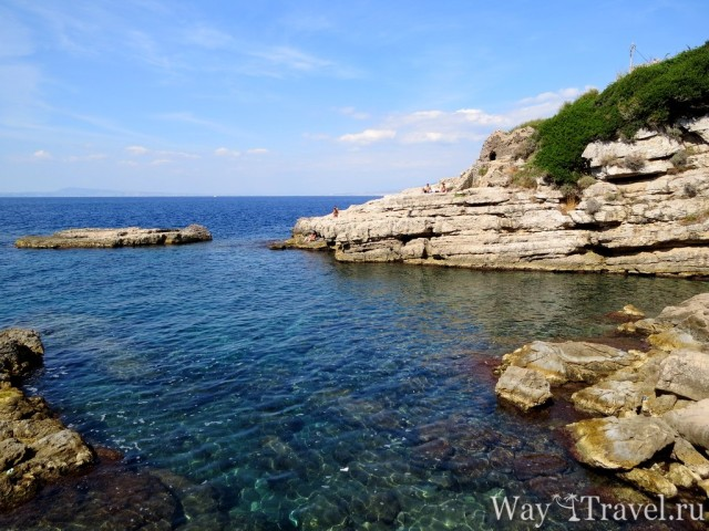Баньи Джованна - бесплатный пляж рядом с Сорренто (Bagni della regina Giovanna )