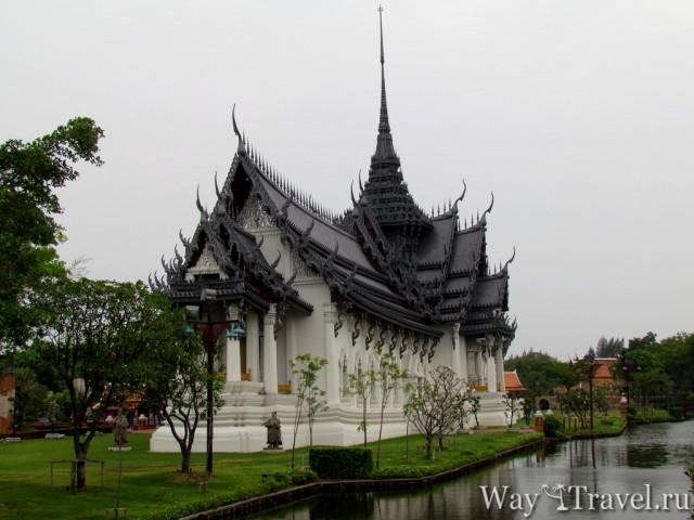 Национальный парк Древний Сиам. Видео Mueang Boran.