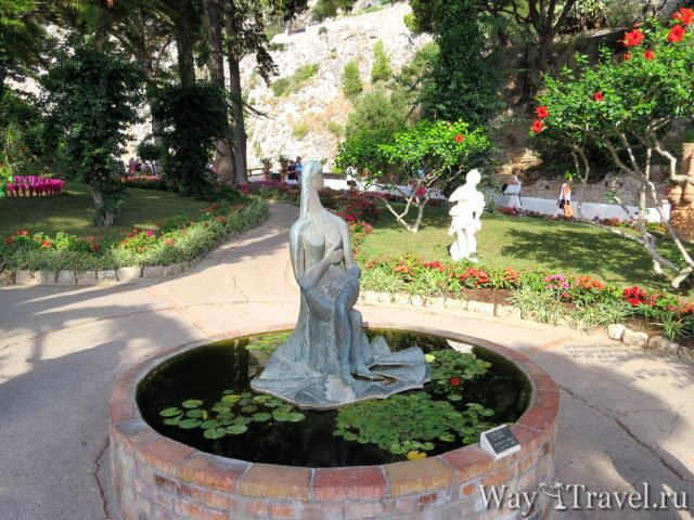 Сады императора Августа (Giardini di Augusto)